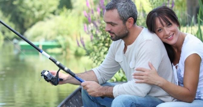 хобби прекрасный пол рыбалка